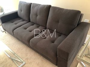 Brand new grey sofa bed for Sale in Houston, TX