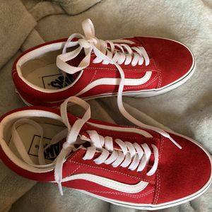 Brand New Red Vans for Sale in Raleigh, NC