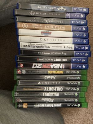 PS4 and Xbox One Games for Sale in Wylie, TX