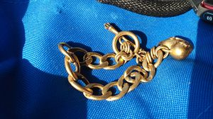Juicy Couture Women's Gold Tone Starter Charm Bracelet for Sale in Sacramento, CA