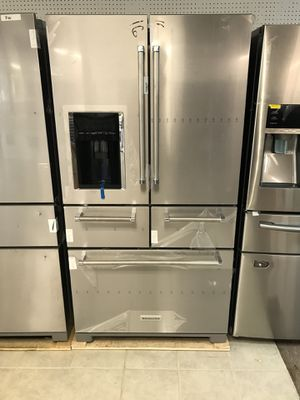 20% off Fourth of July savings KitchenAid five door refrigerator for Sale in Houston, TX