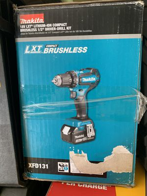 Makita brushless 1/2 drill set for Sale in Plant City, FL