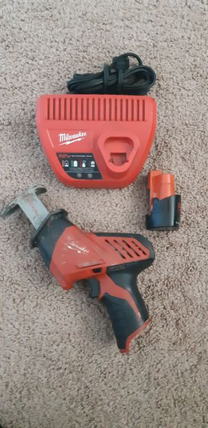 MILWAUKEE M12 HACKZALL for Sale in San Diego, CA