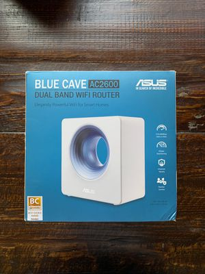 Asus blue cave ac2600 WiFi Ai mesh router for Sale in Fremont, CA