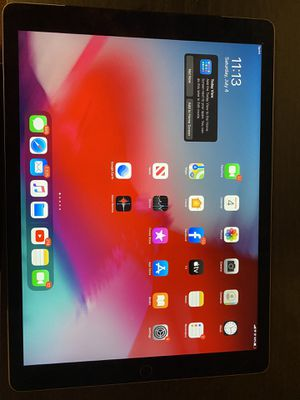 Ipad Pro with 3 part outer box case for Sale in Florissant, MO