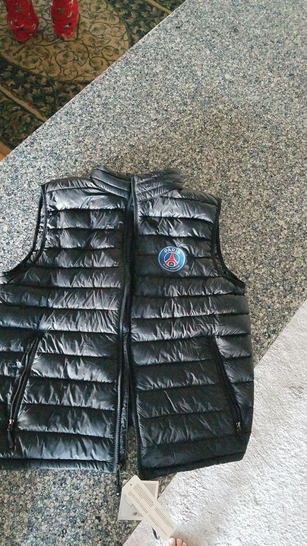 PSG down vest - Men's Large