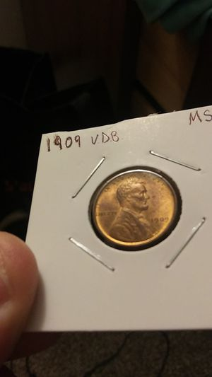 1909 V.D.B. Lincoln cent for Sale in Peoria, IL