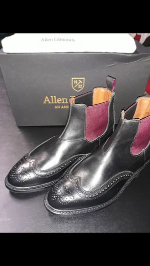 New in Box Men Allen Edmonds Boots size 8 1/2 for Sale in Brooklyn, NY