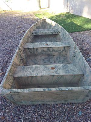 11 foot aluminum flat bottom boat for Sale in Apache Junction, AZ