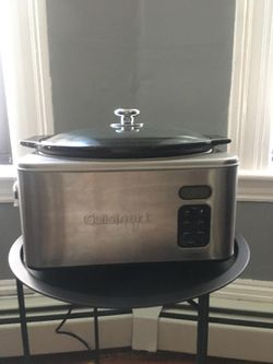 Crock-Pot/Slow Cooker- Cuisinart - Stainless Steel 6-1/2 for Sale in Everett,  MA