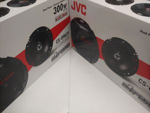 Car speakers : ( total 2 pairs ) JVC 6.5 inch 2 way 300 watts car speakers new for Sale in Bell Gardens, CA