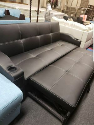 Sofa pull out bed futon... Firm Price..We take payments for Sale in Las Vegas, NV