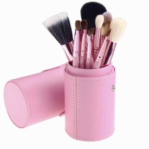High Quality Makeup Brush Set with Leather Case for Sale in Miami Beach, FL