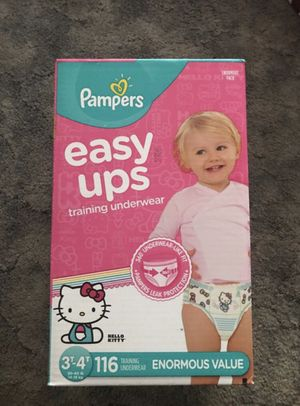 Pampers Easy Ups Training Underwear (3T-4T) for Sale in New York, NY