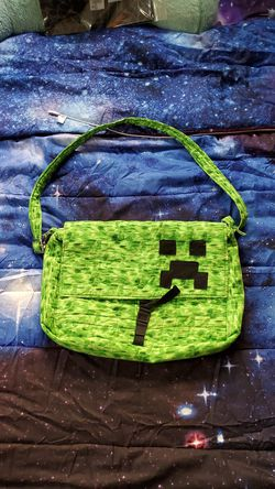 Minecraft Creeper messenger bag for Sale in Pittsburgh,  PA