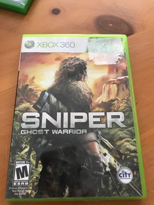 Sniper ghost warrior for Sale in Manton, MI