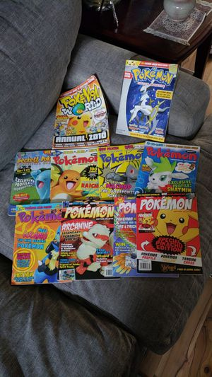 Rare Pokemon magazine collection lot for Sale in Land O Lakes, FL