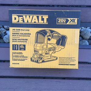 BRAND NEW DEWALT 20V XR BRUSHLESS JIGSAW (DCS334B) for Sale in Philadelphia, PA