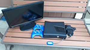 XBOX 360 AND SHARP TV for Sale in Ontario, CA