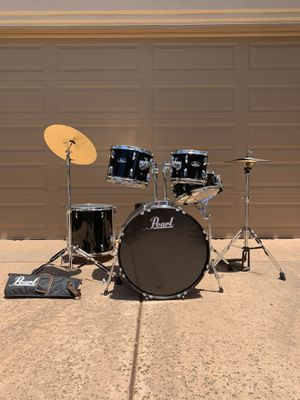 Pearl Roadshow 5-Piece Drum Set (and more) for Sale in San Diego, CA