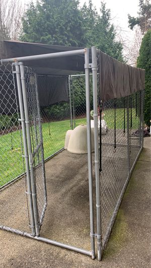 Easy assembly dog kennel - 6ftx12ft for Sale in Edmonds, WA
