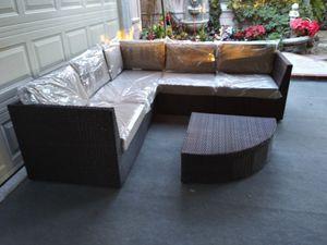 Outdoor patio wicker sofa for Sale in Chatsworth, CA