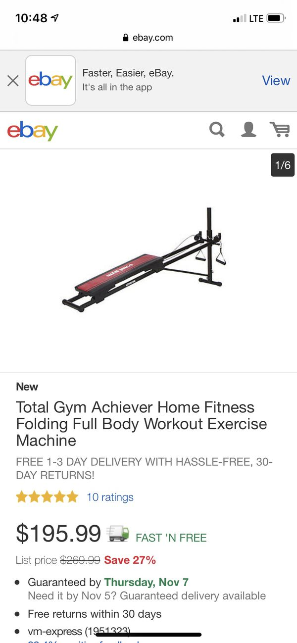 Total Gym (rarely used)