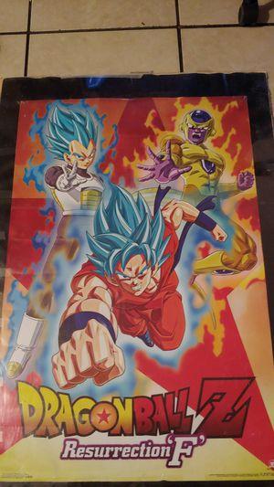 Dragon Ball Z Resurrection 'F' Poster (22 ×34) for Sale in San Jose, CA