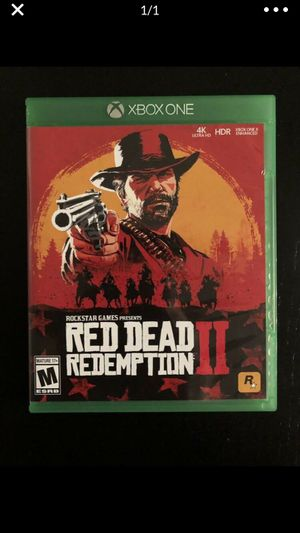 Red Dead Redemption 2 XBOX ONE for Sale in Brooklyn, NY