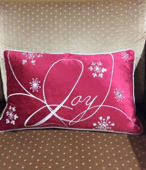 Holiday pillow for Sale in Lake Oswego, OR