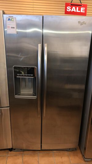 BIG BARGAINS!! CONTACT TODAY! Whirlpool Refrigerator Fridge Side by Side #1487 for Sale in Baltimore, MD