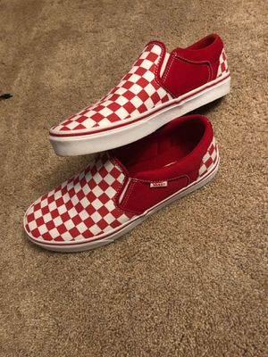 red checkered vans for Sale in Chesapeake, VA