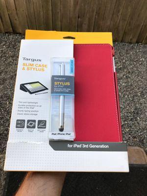 iPad 3rd gen case w/ stylus for Sale in Everett, WA