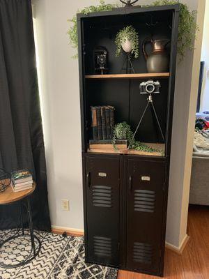 Locker - vintage. Refurbished. With wood shelves for Sale in Alta Loma, CA