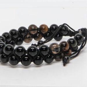 Onyx/Smokey Quartz/Tigers Eye Bracelet for Sale in Buena Park, CA