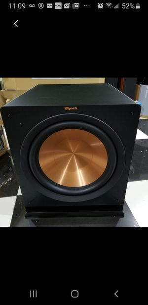 "Klipsch R115 SW 15"" 800 watt wireless subwoofer for Sale in Anaheim, CA"