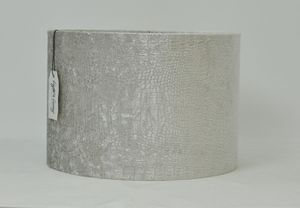 Velour silver gray lamp shade- free with purchase of floor lamp! for Sale in Paramount, CA