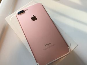 iPhone 7+ Plus , Unlocked for All Company Carrier, Excellent Condition like New for Sale in Springfield, VA