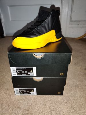 Jordan 12 Retro University Gold Size 3 PS for Sale in Mount Vernon, NY
