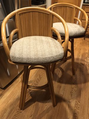 Pair of vintage bentwood bar stools for Sale in Auburn, WA