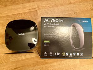 Belkin AC750 Wi-Fi Dual-Band AC+ Router for Sale in New York, NY