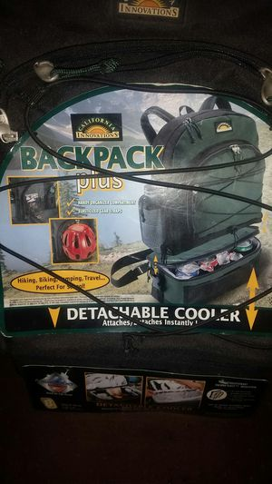 Backpack with detachable cooler for Sale in Ontario, CA