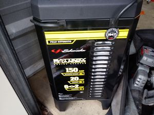 Battery charger and air compressors. for Sale in Manassas, VA