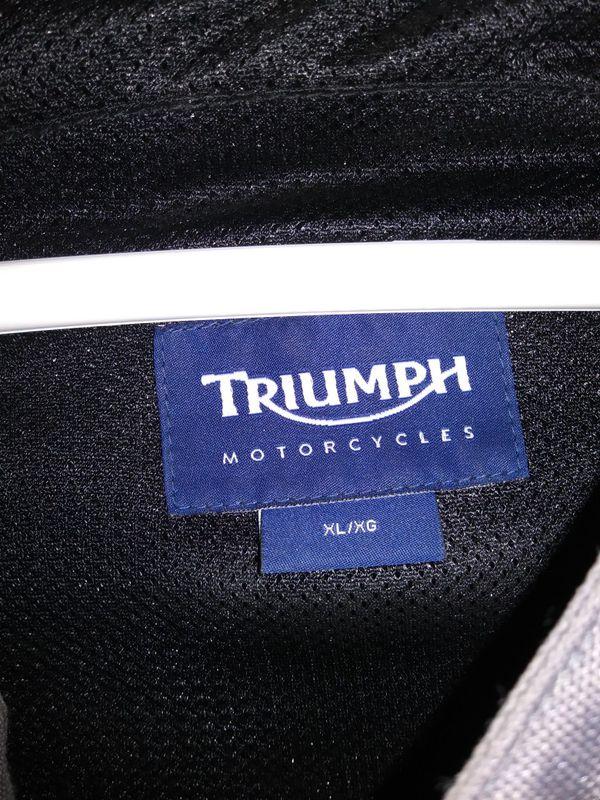Mens Triumph jacket