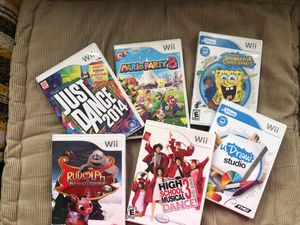 Wii games ... for Sale in San Gabriel, CA