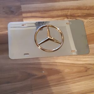 Mercedes Benz 3-D License Plate Frame for Sale in Bradley, IL