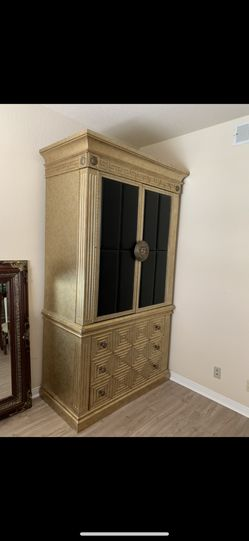 Vintage Versace Style TV Cabinet Or Closet for Sale in Las Vegas,  NV