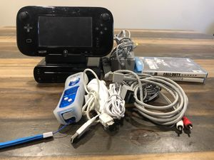 Wii U bundle with two games for Sale in Spring, TX