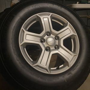 Brand New Jeep Wheels and Tires for Sale in Fresno, CA