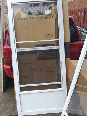 Assortment of new security screen doors for Sale in Portland, OR